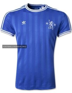 27459d243 Chelsea FC adidas Originals Retro Home Jersey. Retro Football ShirtsFootball  ...