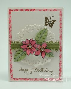 Stampin' Up! Stamping T! - Birthday Card Di