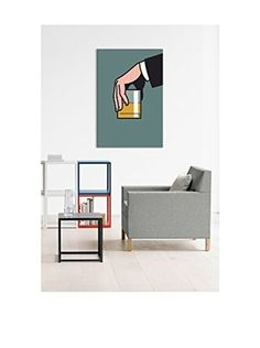 Madmen #2 Gallery-Wrapped Canvas Print (Multi)