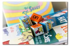 Dr. Seuss story blocks/games