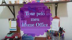 Tour pelo meu Home Office (meu cantinho)