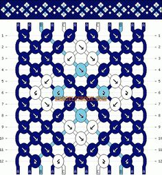Normal friendship bracelet pattern added by CutePrince. Diy Bracelets With String, String Bracelet Patterns, Yarn Bracelets, Diy Bracelets Easy, Embroidery Bracelets, Bracelet Crafts, Friendship Bracelets With Names, Diamond Friendship Bracelet, Friendship Bracelet Patterns