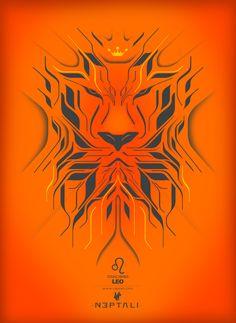 AstroSpirit / Leo ♌ / Fire / The Lion / par Neptali Cisneros