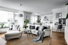 The Best 2019 Interior Design Trends - Interior Design Ideas Small Apartment Living, Tiny House Living, Home Living, Living Spaces, Living Room Lounge, Living Room Decor, Apartment Interior Design, Room Interior, Appartement Design