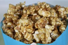 The Café Sucré Farine: Salted Toffee (Microwave!!!) Caramel Corn - In Honor of Virgie