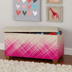 Color Weave Toy Box / land of nod