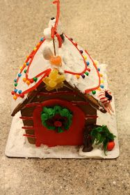 Yellow Blackbird: A Creative Blog: Gingerbread Houses- Ultimate Creativity!