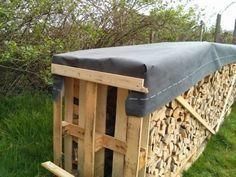 Mit der richtigen Lagerung und einer speziellen atmungsaktiven Abdeckplane für Brennholz lässt sich Brennholz schon innerhalb eines Jahres verwerten.