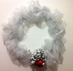 DIY Tulle Wreath by Patricia