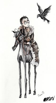 Artist Remakes 'Game of Thrones' Characters In Tim Burton's Style