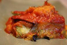 Vegeable noodlefree lasagne