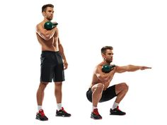 """top 10 kettlebell moves,"" alex harris, menshealth uk: i guess in my crossfit classes, we tend to go heavier on the kettlebells but do less variety of movements than some other people do.  like, we'll of course do american n' russian swings, turkish get.ups, snatches, push/strict presses, goblet squats, farmers carries, windmills, etc., but i hvn't tried kb clean n' presses, single.arm kb front squats, or double kb swings."