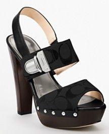 Black Coach Shoes   <<<  LOVE  :)