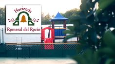 Zona de juegos para niños, parque infantil junto a los salones de bodas en Málaga, en Hacienda Romeral del Rocio #salonesbanquetesMalaga #salonesbodasMalaga