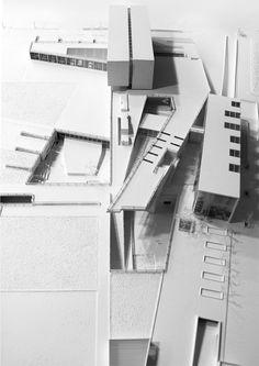 "Red Sea Institute of Cinematic Arts ""RSICA"" / s y m b i o s i s design Architecture Model Making, Architecture Drawings, Concept Architecture, Model Building, Interior Architecture, Architecture Colleges, Base Building, Landscape Architecture, Interior Design"