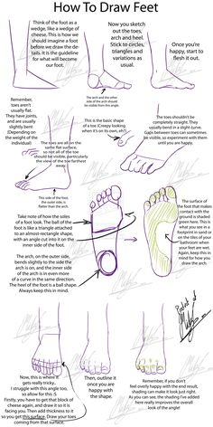 Tutorial+-+How+to+Draw+Feet+by+Micky-K.deviantart.com+on+@deviantART