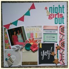 Like this style of grid design scrapbook layout My Scrapbook, Scrapbook Layouts, Online Paper, Grid Design, Craft Stores, How To Introduce Yourself, Nerd, Paper Crafts, Frame