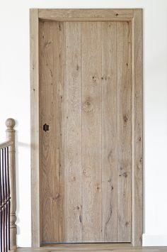 Oak Skirting Boards, Modern Cabin Interior, Door Design, House Design, Solid Oak Doors, Oak Interior Doors, House Doors, Cabin Interiors, Rustic Bathrooms