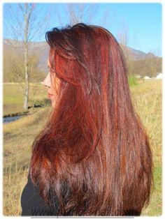 coloration rouge ralis avec du henn naturel cuivr - Coloration Henn Rouge