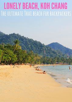 Koh Chang is one of my favorite beaches in Thailand!