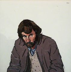 Keith Andrew (b.1947) Kyffin Williams ( 1918-2006)