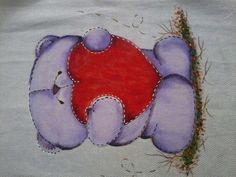 Ursinha lilás