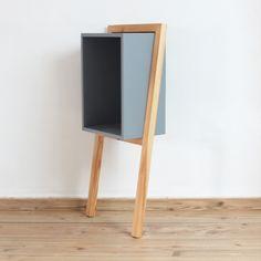 Mesita auxiliar de diseño en madera - Inuk Home
