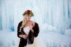 www.bladhPhotography.com  Ice castles Bride