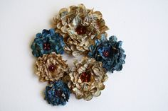 flowers made from book pages - Google Search