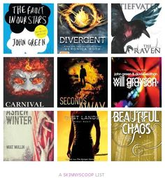 Top 10 Young Adult Books of 2012- yay divergent is there!! ~Divergent~ ~Insurgent~ ~Allegiant~