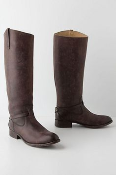 Lindsay Plate Boots from Anthropologie. Saved to Epic Wishlist. Shop more products from Anthropologie on Wanelo. Crazy Shoes, New Shoes, Fry Boots, Bootie Boots, Shoe Boots, Brown Riding Boots, Boot Shop, Tall Boots, Comfortable Shoes