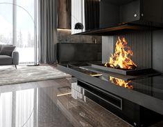 Talc baths on Behance Outdoor Decor, Fireplaces, Baths, Design, Behance, Home Decor, Fireplace Set, Fire Places, Decoration Home