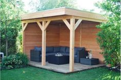 Overkapping 400 x 300 cm Shed, Woodworking, Outdoor Structures, Home, Ad Home, Homes, Carpentry, Wood Working, Woodwork