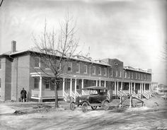 Anacostia home being constructed circa 1919
