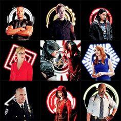 Arrow and The Flash team
