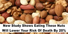 New Study Shows Eating These Nuts Will Lower Your Risk Of Death By 20%   Family Health Freedom Network