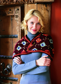 "Free pattern for ""Chic Capelet""...so pretty!"