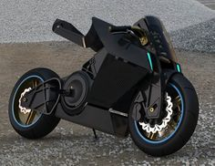 The Shavit electric sport motorcycle byEyal Melnick, features a very unique riding position system that makes shifting from everyday upright stance to racetrack oriented lean as easy as the push of a button.Handlebars, footpads, and seat height can be adjusted independently,