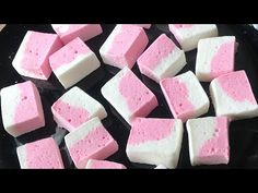 Marshmallow recipe | my no fail homemade marshmallow recipe - YouTube Marshmallow Recipe Without Corn Syrup, Recipes With Marshmallows, Homemade Marshmallows, Salted Caramel Fudge, Peanut Butter Fudge, Salted Caramels, Candy Recipes, Snack Recipes, Dessert Recipes