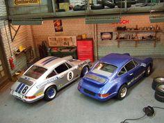 Wilcos Dioramas  P-O-R-S-C-H-E 911-RS-2.7