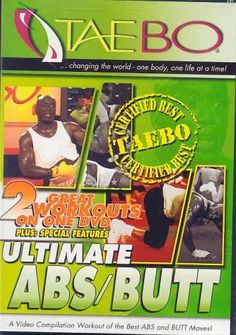 Taebo: Ultimate Abs/Butt DVD ~ Billy Blanks, http://www.amazon.com/dp/B00008MHBZ/ref=cm_sw_r_pi_dp_iQBYrb1625JA2