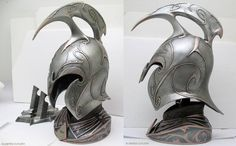 Fantasy Armor, Fantasy Weapons, Elf Armor, Lotr Elves, Warrior Helmet, Elf Clothes, High Elf, Medieval Armor, Body Armor