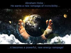 Abraham Hicks - Energy rampage 2013 NEW!