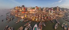 The land of Varanasi has been the final pilgrimage spot for Hindus for ages. Varanasi, the holy city of India, is also known by the name of Kashi & Benaras. Varanasi is the most famous pilgrimage point for the Hindus.