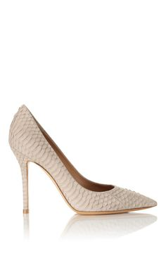 Almond Susi Pump by Salvatore Ferragamo Now Available on Moda Operandi