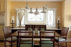 Dinning room decor idea