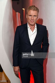 Actror Dolph Lundgren attends Cocktail Party Celebrating 1th Taormina Film Fest - Los Angeles 2016 at Italian Cultural Institute Of Los Angeles on January 21, 2016 in Los Angeles, California.