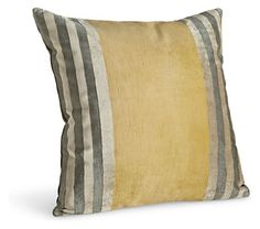 Stripe Gold Pillow - Pillows - Accessories - Room & Board