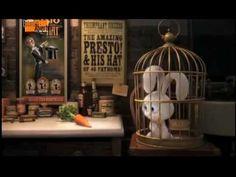 Presto : un court métrage sur la magie bourré d'humour !!