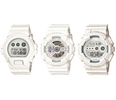 "CASIO G-SHOCK ""TREND WHITE"" PACK"